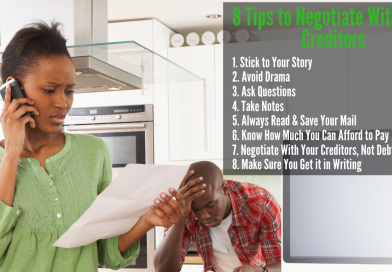 8 Tips to Negotiate With Your Creditors